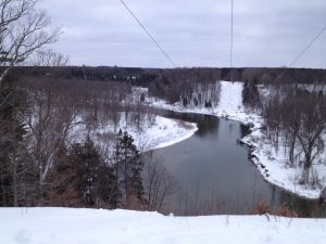 The Big Manistee River from the trail