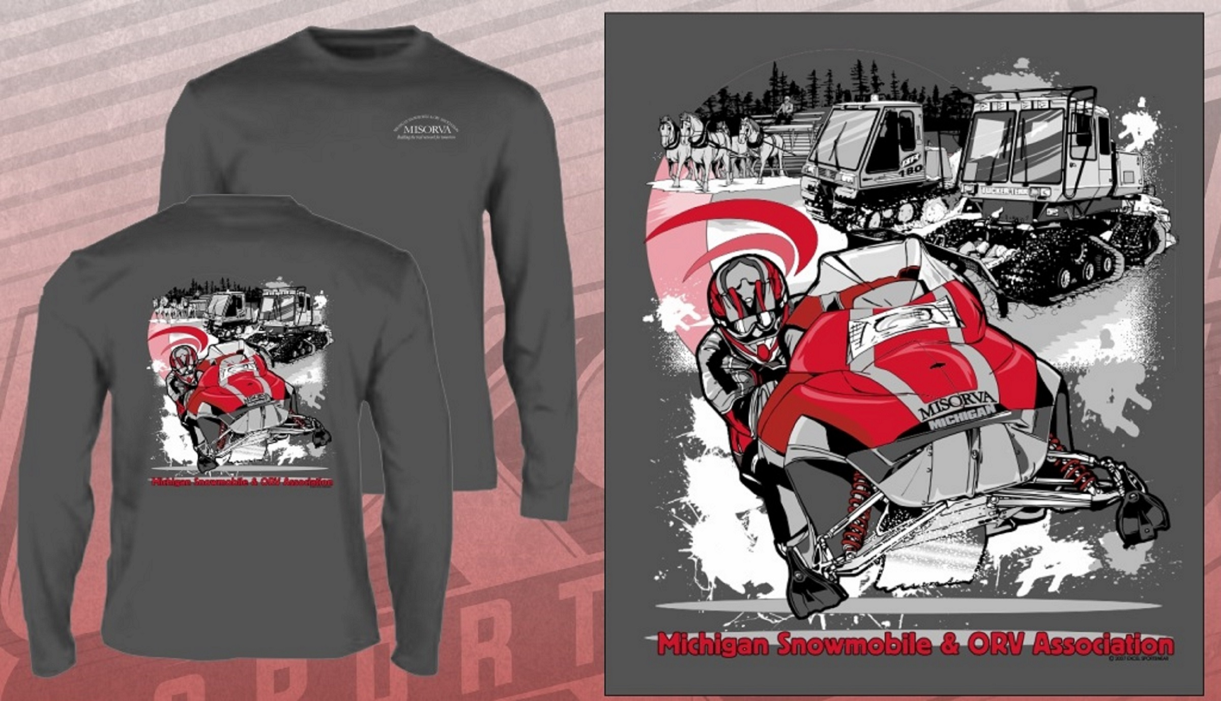 MICHIGAN SNOWMOBILE ASSOCIATION 642011083 TEE